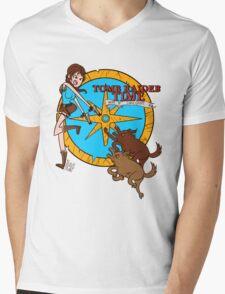 Tomb Raider Time Mens V-Neck T-Shirt