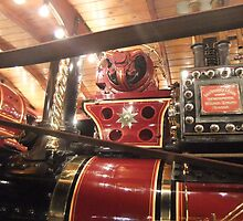 Showmans Engine, Lincoln Steam Rally by Ellie Lewis