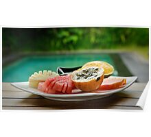 Exotic fruits from Bali Poster