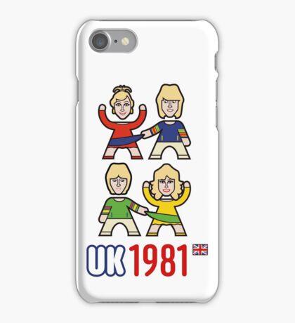 UK 1981 iPhone Case/Skin