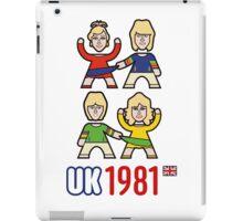 UK 1981 iPad Case/Skin