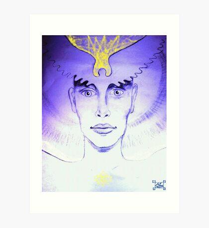 Masculine and Feminine Divine Art Print