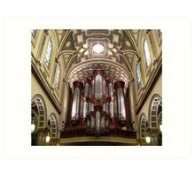 The Mander Organ at St. Ignatius Loyola Church, New York City Art Print