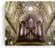The Mander Organ at St. Ignatius Loyola Church, New York City Metal Print
