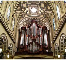 The Mander Organ at St. Ignatius Loyola Church, New York City Photographic Print