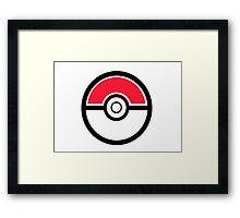 Pokemon Pokeball 1 Framed Print
