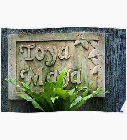 Toya Maya Poster