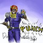Falcon Punch! by Redustheriotact