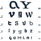 Online Eye Chart by SevenHundred
