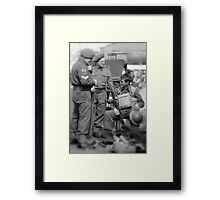 The Well earned rest  Framed Print