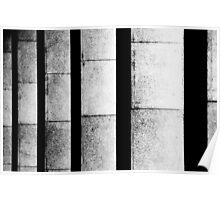 Columns, E.U.R. borough, Roma  Poster