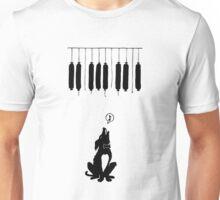 dog and music Unisex T-Shirt