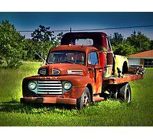 Old Trucks Photographic Print