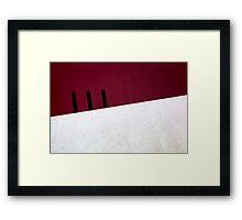 Foro Italico, Roma Framed Print