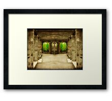 Welcome To My World...©  Framed Print