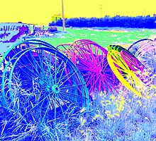 Wheels IV by Al Bourassa