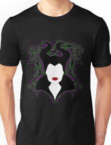 Maleficent (White) Unisex T-Shirt