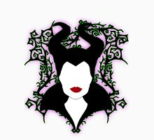 Maleficent (White) Womens Fitted T-Shirt