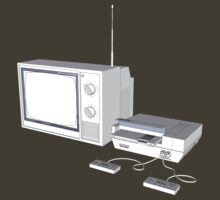 NES and TV by TGIGreeny