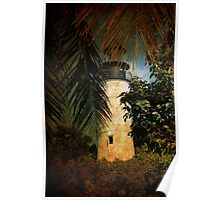 The Lighthouse in Key West Poster