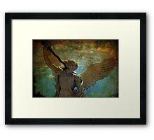 Angel of the last days Framed Print
