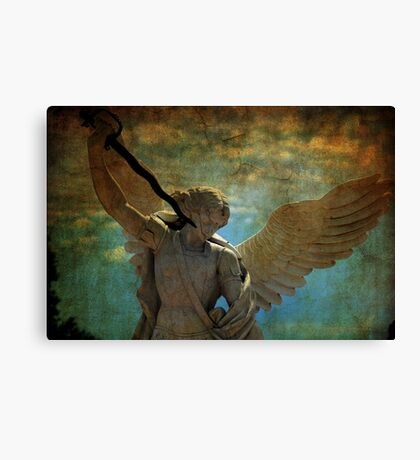 Angel of the last days Canvas Print