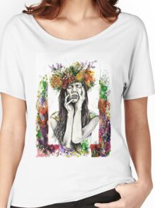 Flower Girl Women's Relaxed Fit T-Shirt
