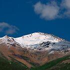 snowy peak by KathleenRinker