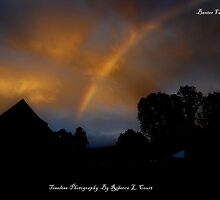 Two Rainbows  looking over campsit by becca2425