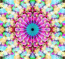 Mixed Media Mandala 9 by Phil Perkins