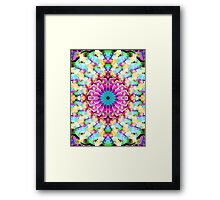 Mixed Media Mandala 9 Framed Print