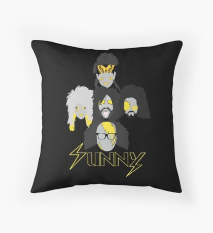 Sunny Gang Throw Pillow