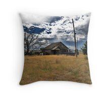 Storms Coming Throw Pillow