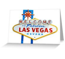 Welcome to fabulous Las Vegas | T-shirt  Greeting Card