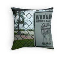 Watch Out! Throw Pillow