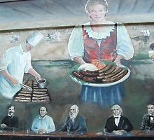 German Settlers in Texas - Wurst (sausages) by Shiva77