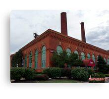 The Cleveland Powerhouse Canvas Print