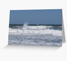 atlantic ocean while egor is off shore Greeting Card