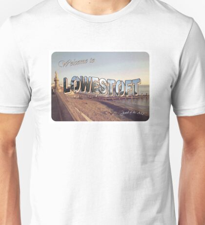 Postcard From the Edge Unisex T-Shirt
