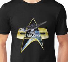 StarTrek Enterprise 1701 A Com badge Unisex T-Shirt