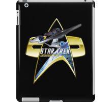 StarTrek Enterprise 1701 A Com badge iPad Case/Skin