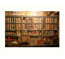 Canned Goods Art Print