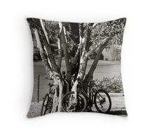 Anyone for a bike ride?  Throw Pillow