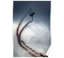 F16 Fly By Poster