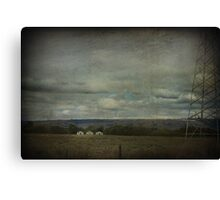 Bad Things Happen In Threes Canvas Print