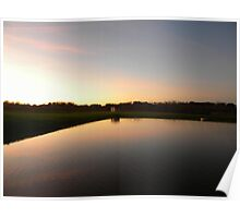 Vineyards Reflections Poster