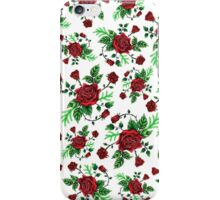 FLORAL W iPhone Case/Skin