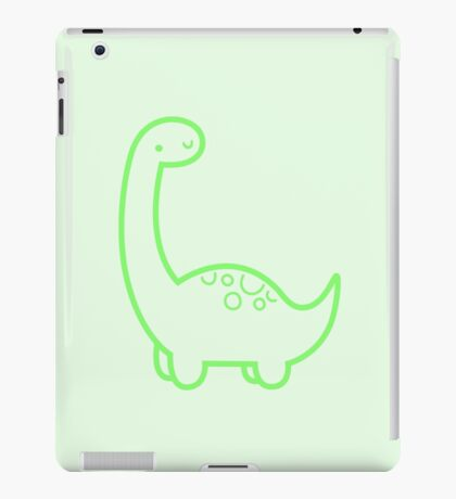 Cute Dino iPad Case/Skin