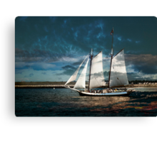 Sail with us Canvas Print