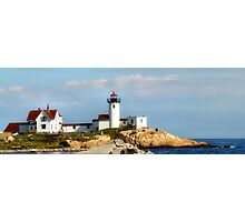 Eastern Point Light Photographic Print